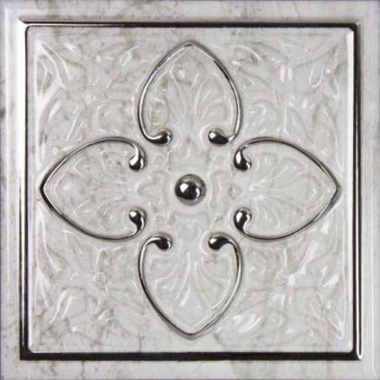 PETRA Dec. Armonia Silver A 15x15