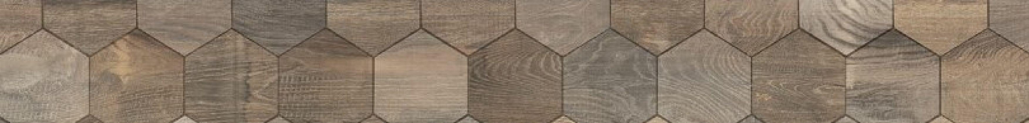 TUDOR Intarsio Marron 15x90