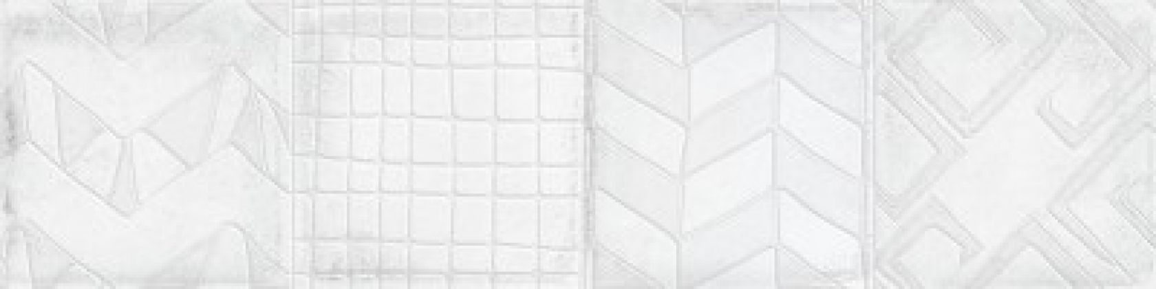 ALCHIMIA Decor White 7,5x30