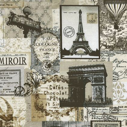 VINTAGE Paris 20x20