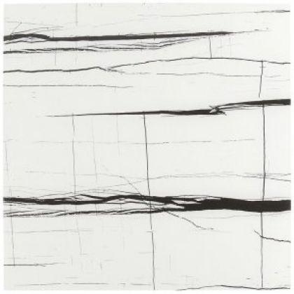 SAHARA Noir White Full Lappato 60x60