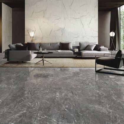 CEZANNE STONE Dark Grey 90x90
