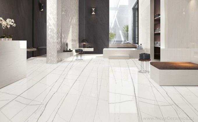 STRIPE White Full Lappato 80x160