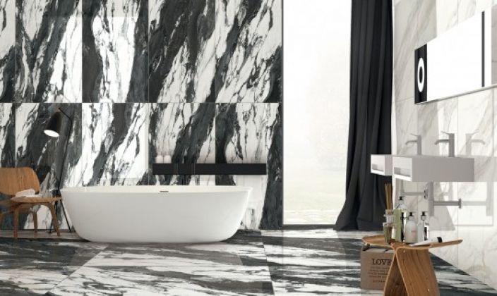 VERSACE Black 75x150
