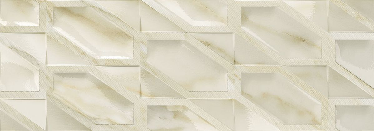 Calacatta Hexa Gloss 31,6x90