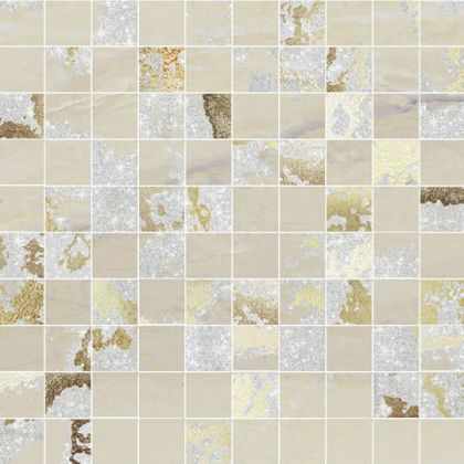 Mosaico Q. Solitaire Sand Mix (Р) (6шт) 30x30