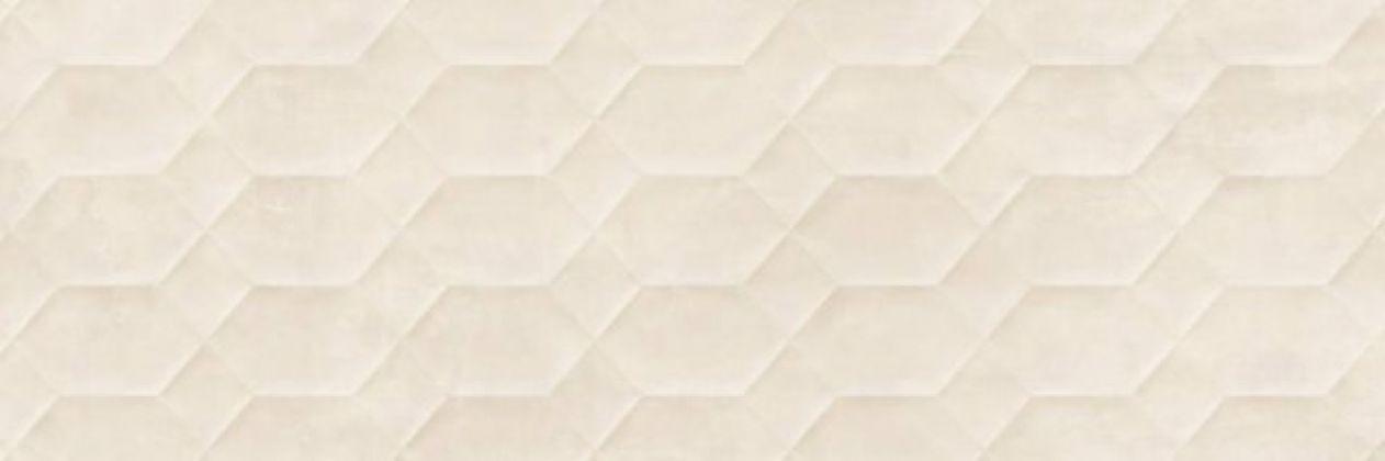 Resina Avorio Struttura Bee 3D rett. 40x120