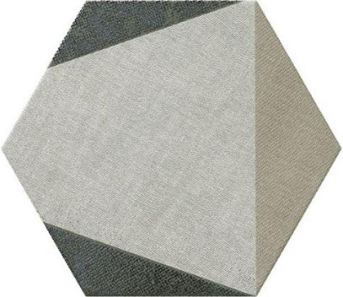 HEXTANGRAM FABRIC TAUPE 28,5x33