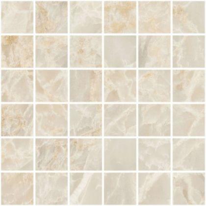 Marble-X Мозаика Скайрос Кремовый ЛПР (5x5) 30x30