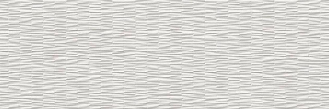 Resina Bianco Struttura Wall 3D rett. 40x120
