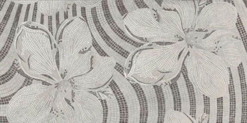 Gems Decor Flower Silver Lapp/Rett 60x120