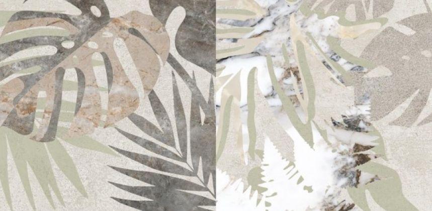 Marble-Beton Декор Цветочный 30x60