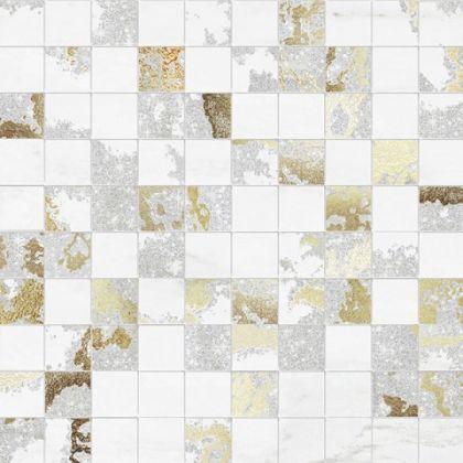 Mosaico Q. Solitaire White Mix 30x30