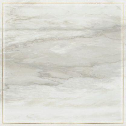 Decor Solitaire Rosone Pav. Gold- Grey Lapp/Rett 60x60
