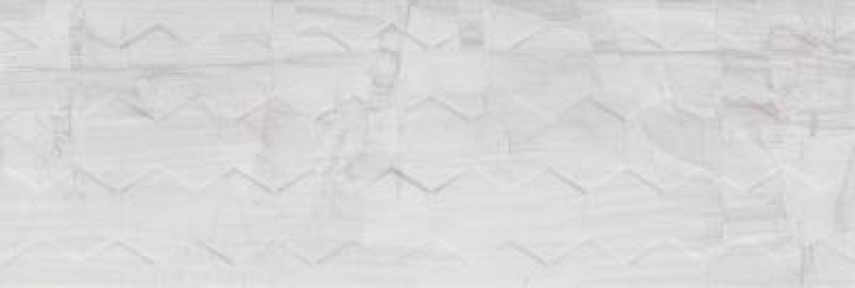 Brennero White Hexagon 25x75