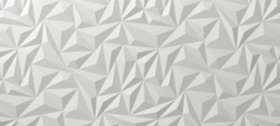 Angle White Matt 40x80