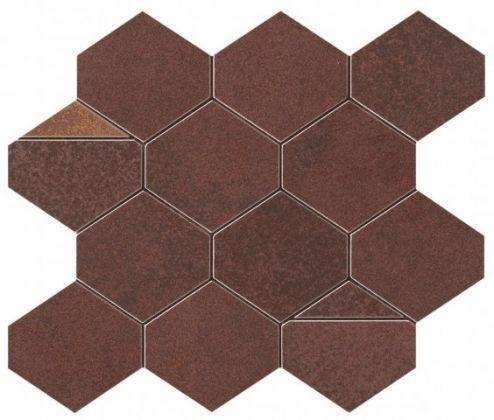 Blaze Corten Mosaico Nest 25,8x29,4