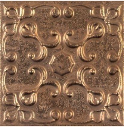 Aged Copper Ornato 20x20