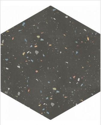 Terrazzo Graphite Colours 32x36,8