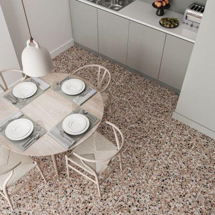 Terrazzo Graphite 32x36,8