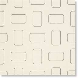Light Glossy White Inserto Pattern nat.