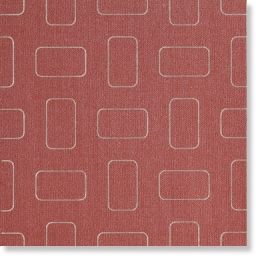 Light Bright Red Inserto Pattern lap.