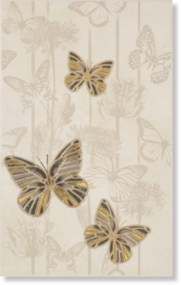 8102-0130948 Decor Papillon Gold