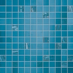 For Love Blu Mosaico Rete