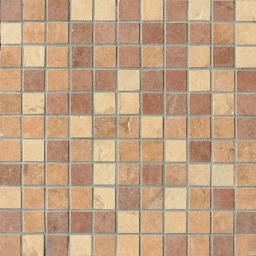 Mosaico Mix Light Quarry Stone Tessera (Amber, Sand, Terra)