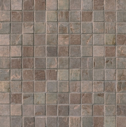 Mosaico Mix Dark Quarry Stone Tessera (Forest, Slate)