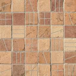 Mosaico Mix Vintage Light Quarry Stone Tessera (Amber, Sand, Terra)