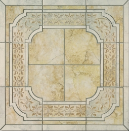 Pietra Romana Ocra Border Decor
