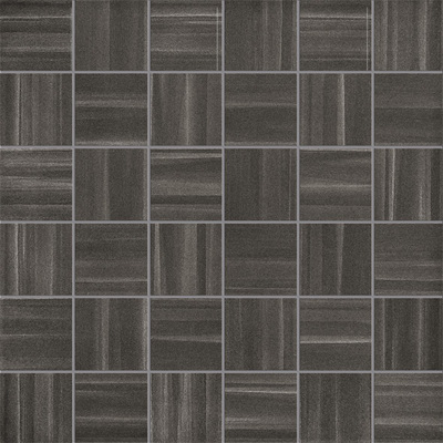 Mosaico Stripes Black Chic Lapp. e Rett. 30x30