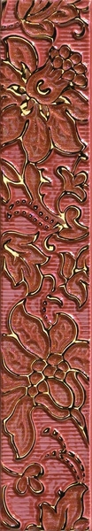 Oriental Art List. Rilievo Burgundy