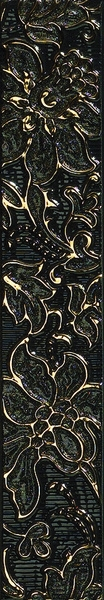 Oriental Art List. Rilievo Gold Black