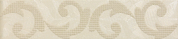 Touch Beige Listello Flower 20 x