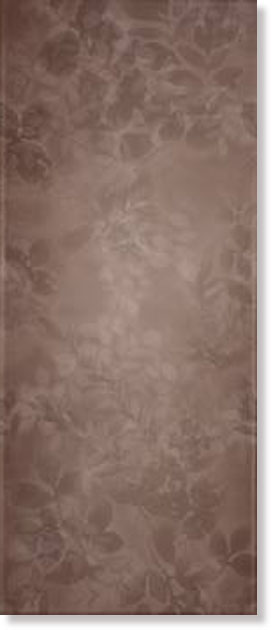Плитка MUW 69RT MUSA Bouquet_Coffee Brown 25x60