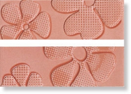 Бордюр Glamour Coral List. Flower Mix 2 8x25 (LGFC)