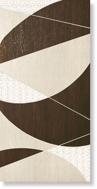 СД413 DECORO METALWOOD B (IRIDIO-BRONZO)