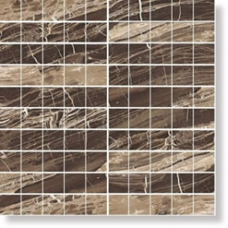 I Marmi Marble Brown Mosaico 3D Mix