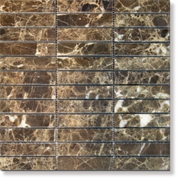 390853 Achat natural stone Dark Imperador, polished