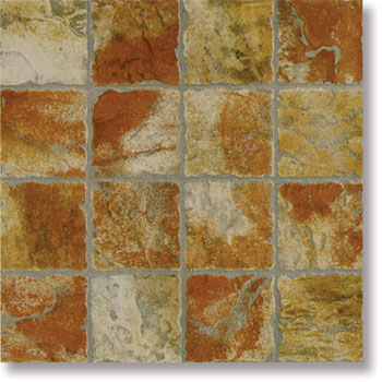 Плитка Color Stone Red 34x34