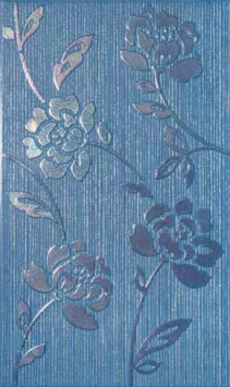 Decoro Full Flowers Blue 30x50