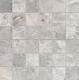 Fossil Mosaico Quadr.Fossil Light Grey