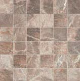 Fossil Mosaico Quadr.Fossil Brown