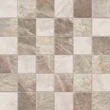 Fossil Mosaico Quadr.Mix Crema/Beige/Brown
