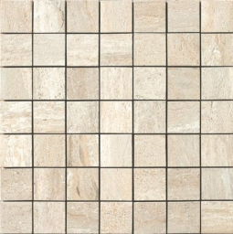 Mosaico Travertino Beige (6x6)