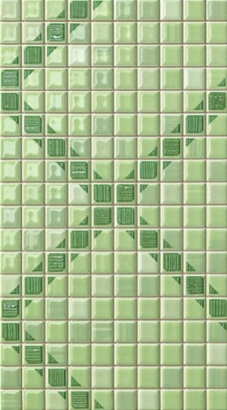 Pop Up Squares Green Inserto
