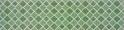 Бордюр Pop Up Squares Green Listello