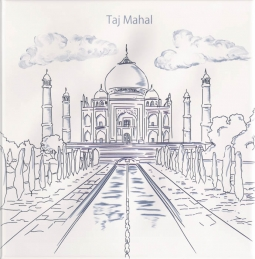 Ondulado Decor World-1 Taj Mahal